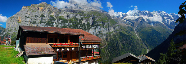 Gimmelwald: The alps in your lap