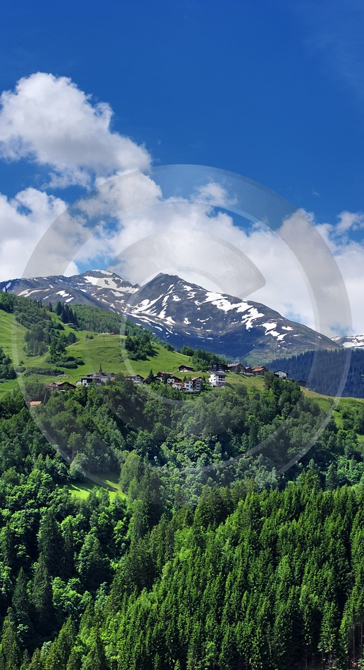 Disentis Mompe Am Lukmanierpass Surselva Fine Art Photography Country Road - 003167 - 12-06-2008 - 3786x6964 Pixel