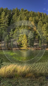 Silvaplana Engadin Pond Lake Autumn Color Panorama Viewpoint Fine Art Fine Art Photography For Sale - 025307 - 08-10-2018 - 7537x13349 Pixel