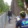 Riding through Lörrach, Germany