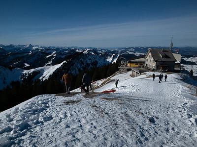 View of the restaurant on Kronberg summit.