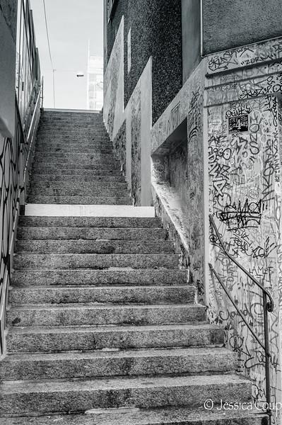 Stairway of Graffiti