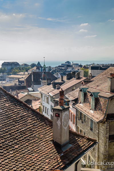 Rooftops of Lausanne