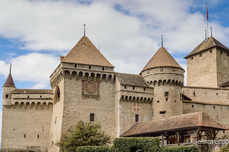 Chateau de Chillon Entrance