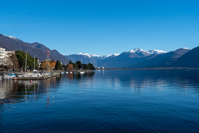 Lakeside view in Locarno