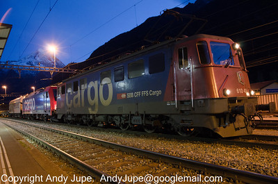 Swiss Registered Locomotives & Rolling Stock
