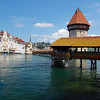 "The ""chapel bridge"" in Lucerne is the oldest wooden bridge in Europe"