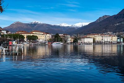 Lake view, Lugano.
