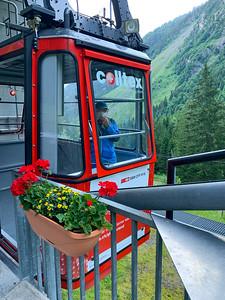 The gondola from Kies to Mettmen.