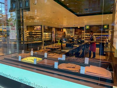 Laederach chocolate reopens in Zurich.