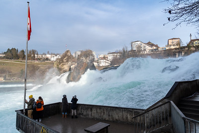 The Rheinfall.