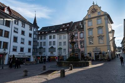 Fronwagplatz, Schaffhausen.