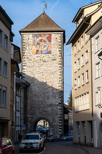Clock tower and former city gate, Schaffhausen