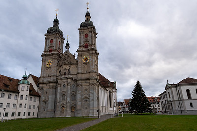 Dom Cathedral, Abbey of St Gallen, Switzerland.