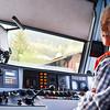 Inside a Swiss train - Jungfraujoch