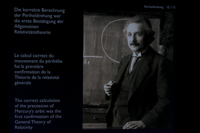 Einstein exhibit in Bern, Switzerland