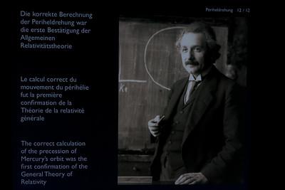 Einstein exhibit in Bern, Switzerland
