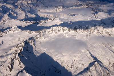 Snow covered alps