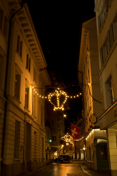 Switzerland, Lucerne, Alleyway