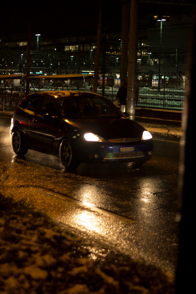Switzerland, Lucerne, Car's Headlights SNM