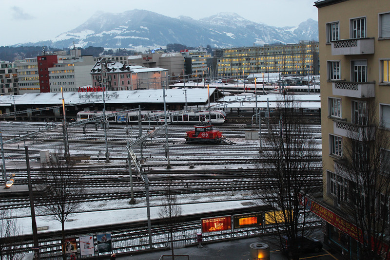 Switzerland, Lucerne, Railway Station
