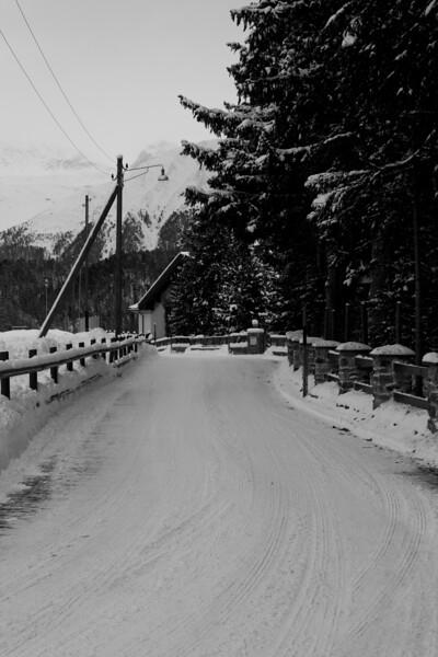 Switzerland, St Moritz, Lane SNM