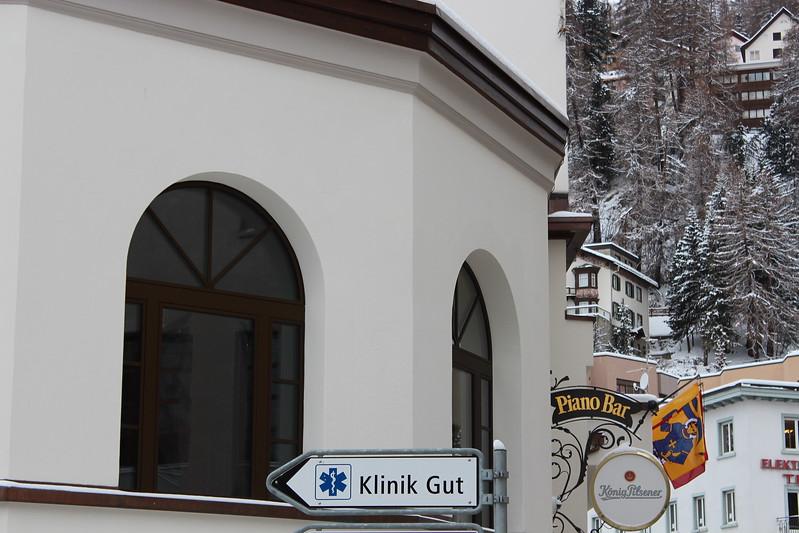 Switzerland, St Moritz, Funny Sign