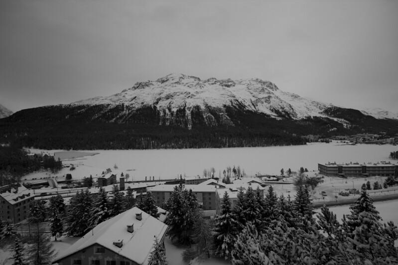 Switzerland, St Moritz, Mountain SNM