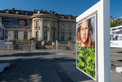 "Nestle-sponsored ""alimentarium"" museum in Vevey, Switzerland."