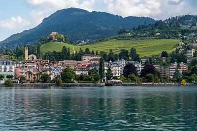 The outskirts of Montreaux, Switzerland.