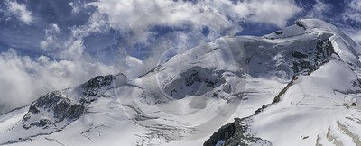 Saas Fee Felskin Allalin Glacier Ice Snow Alps Fine Art Prints For Sale Senic Stock Photos - 021308 - 16-08-2017 - 16924x6845 Pixel