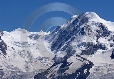 Zermatt Hoehbalmen Trift Monterosa Berg Sommer Aussicht Alpen Nature Fine Art Photography For Sale - 004491 - 12-08-2009 - 6650x4621 Pixel