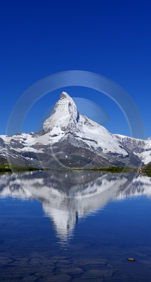 Stellisee Matterhorn Island Ice Fine Art Photography For Sale Photography Prints For Sale Images - 002764 - 15-07-2008 - 4241x7920 Pixel