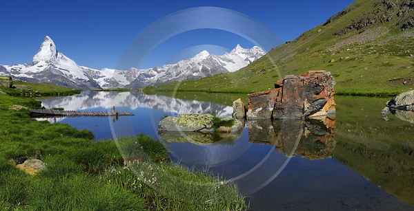 Stellisee Matterhorn Zinalrothorn Fine Art Photographer Leave City Prints For Sale Fine Art Prints - 002785 - 15-07-2008 - 8409x4297 Pixel