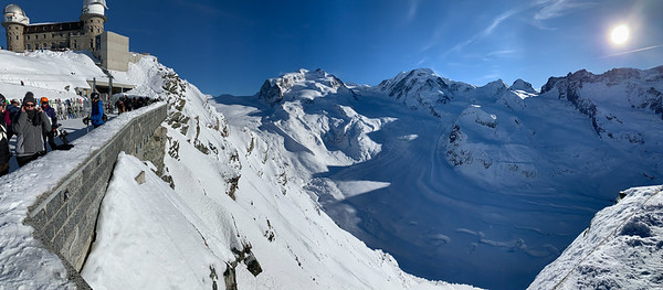 Gornergrat, above Zermatt.