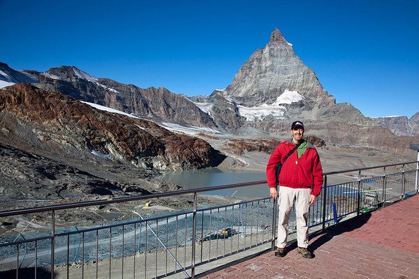 Your's truly with Matterhorn