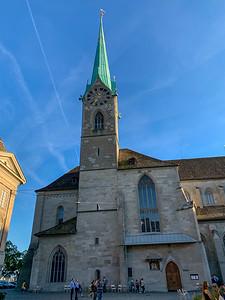 Fraukirche, Zurich.