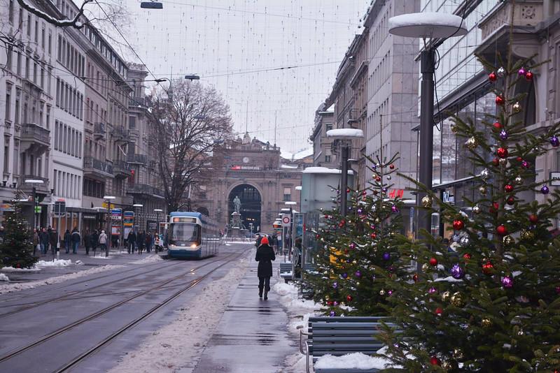 zurich christmas travel