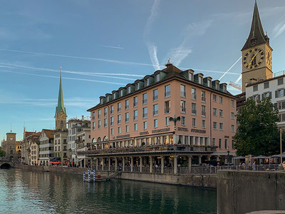 Hotel zum Storchen, Zurich.