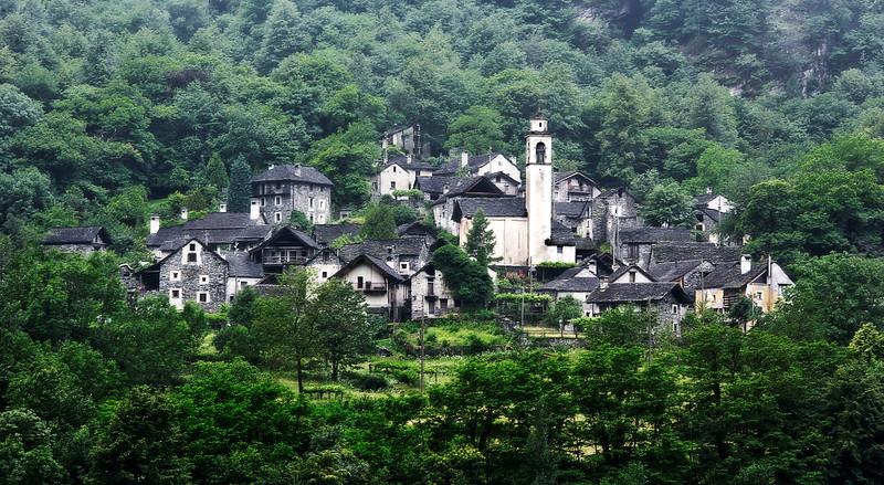 Boschetto; Valle Maggia; Tessin; Switzerland