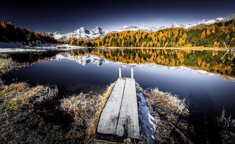 Lej da Staz, St. Moritz