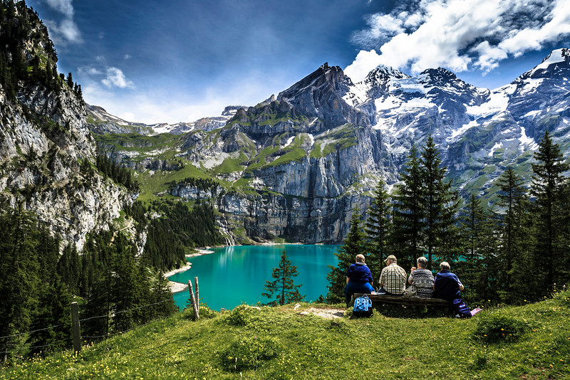 Oeschinensee, Bernese Highlands