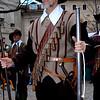 A Musketeer at the Geneva 'Escalade' festival