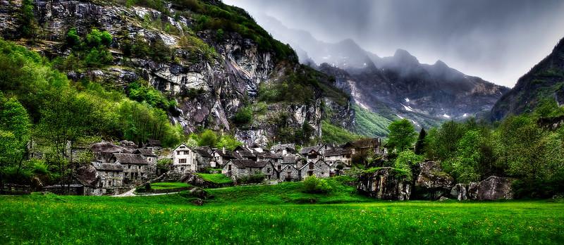 Sonlerto; Valle Bavona; Tessin Switzerland