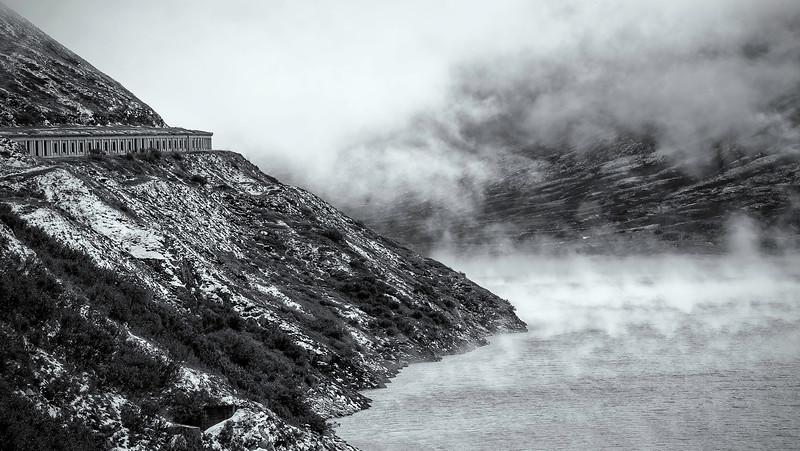Lucomagno; Lukmanier Pass; Lago di Santa Maria; Graubünden; Switzerland