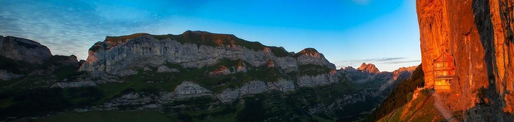 Aescher-Wildkirchli; Alpstein; Appenzell; Switzerland