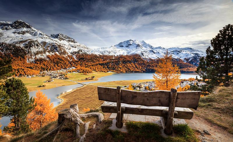 Swiss Autumn, Silvaplana
