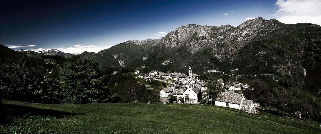 Rasa; Centovalli; Tessin; Switzerland