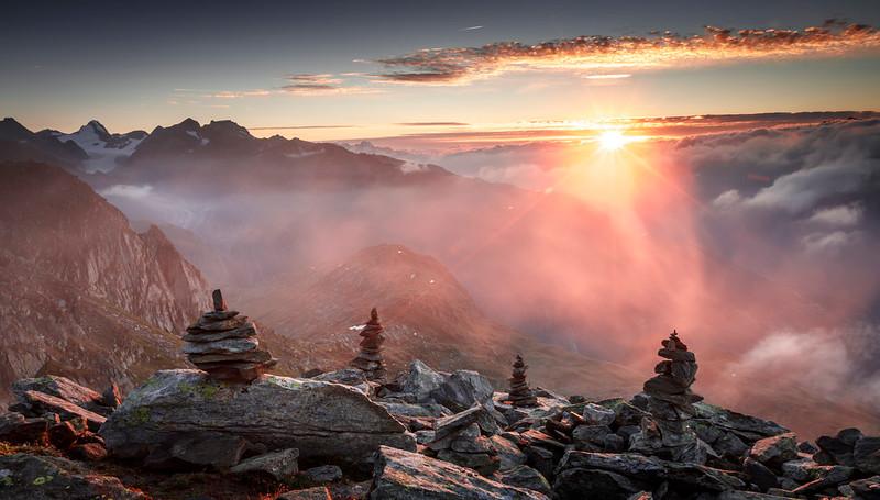 Eggishorn Sunrise