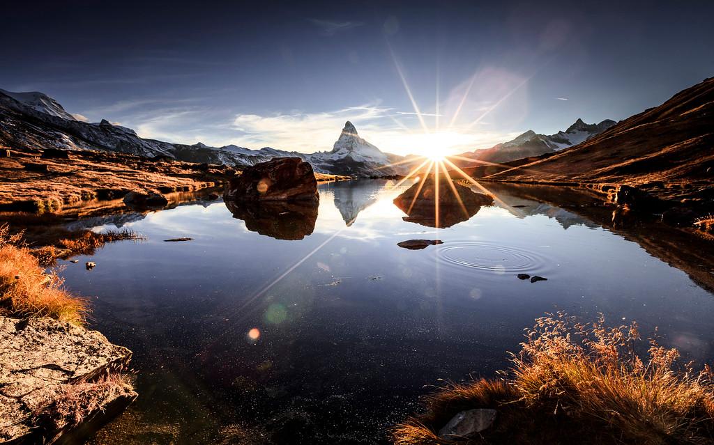 Stellisee Sunset